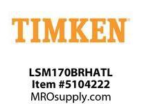 TIMKEN LSM170BRHATL Split CRB Housed Unit Assembly