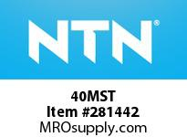 NTN 40MST STEEL HOUSINGS