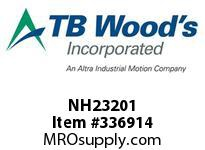 TBWOODS NH23201 NH2320X1 FHP SHEAVE