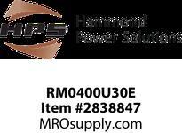 HPS RM0400U30E IREC 400A 0.030MH 60HZ EN Reactors