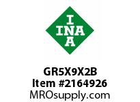 INA GR5X9X2B Seal single lip