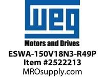 WEG ESWA-150V18N3-R49P FVNR 125HP/460V T-AP 3R 120V Panels