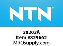 NTN 30203A Small Tapered Roller Bearings