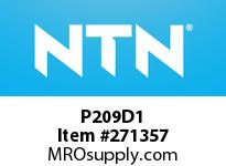 NTN P209D1 CAST HOUSINGS