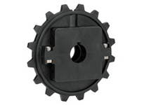 614-167-4 NS7956-16T Thermoplastic Split Sprocket With Keyway And Setscrews TEETH: 16 BORE: 1 Inch