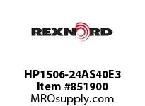 REXNORD HP1506-24AS40E3 HP1506-24 3AS-T40P PESROD HP1506 24 INCH WIDE MATTOP CHAIN WI