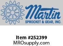 """Martin Sprocket 10TCS12-5 10"""" X 12GA SEMIFLG CVR 5"""