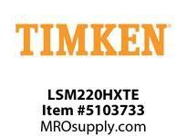 TIMKEN LSM220HXTE Split CRB Housed Unit Component