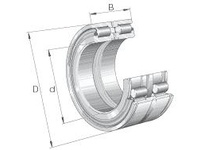 INA SL045004 Cylindrical roller bearing-full com