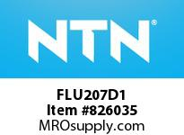 NTN FLU207D1 Cast Housing