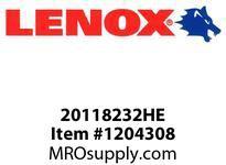 Lenox 232HE 12-IN 32T HACKSAW BLADE