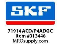SKF-Bearing 71914 ACD/P4ADGC
