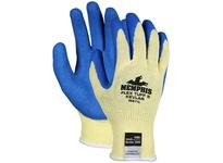 MCR 96871S FlexTuff II Kevlar 10 Gauge KEVLAR Shell Blue Latex Dip Palm and Fingertips