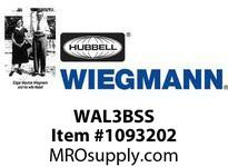 WIEGMANN WAL3BSS 316LSS 3PT N4X PADLOCKING HANDLE