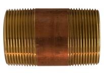 MRO 40143 1-1/2 X 3 RED BRASS NIPPLE