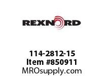 REXNORD 114-2812-15 KU1500-32T 50MM KW2SS NYL KU1500-32T SOLID SPROCKET WITH 50MM