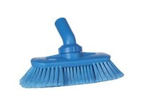 REMCO 70673 Vikan Waterfed Brush Angle Adj. Brush- Blue