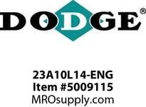 DODGE 23A10L14-ENG 23A10L14 SNGL SHIELD IP BRG - AUTOMATION GEAR PRODUCTS