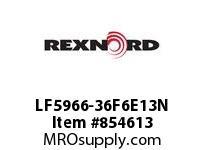 REXNORD LF5966-36F6E13N LF5966-36 R6 T13P N50MM