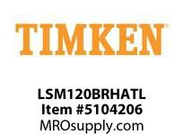 TIMKEN LSM120BRHATL Split CRB Housed Unit Assembly