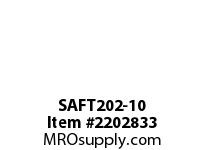 PTI SAFT202-10 2-BOLT FLANGE BEARING-5/8 SAFT 200 SILVER SERIES - NORMAL DUT