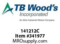 TBWOODS 141212C 14X12 1/2-J CR PULLEY