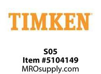 TIMKEN S05 Split CRB Housed Unit Component