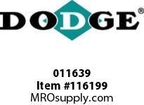 DODGE 011639 PX280 TPS X 5-1/4 FLG ASSEMBLY