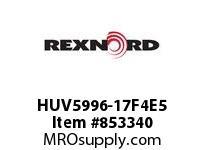 REXNORD HUV5996-17F4E5 HUV5996-17 F4 T5P N2 HUV5996 17 INCH WIDE MATTOP CHAIN W