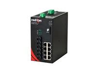 NT24K-11FXE3-ST-80-POE 11-Port Gigabit Managed POE+ Industrial Ethernet Switch (8 10/100/1000BaseT 3 100BaseFX