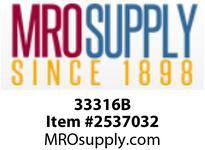 MRO 33316B 1 X 1 HB X MIP BLK POLY ELBOW