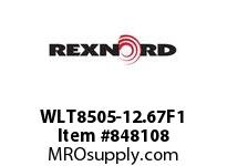 REXNORD WLT8505-12.67F1 WLT8505-12.66 F1 T8P N SP CONTACT PLANT FOR ACCURATE DESCRIPT
