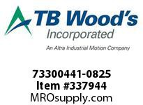 TBWOODS 73300441-0825 73300441-0825 11S T-SF CPLG