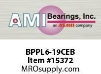 AMI BPPL6-19CEB 1-3/16 NARROW SET SCREW BLACK PILLO (OPEN & CLOSED COVER)