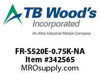 TBWOODS FR-S520E-0.75K-NA INVERTER 230V 1HP SUB-MICRO