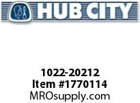 HubCity 1022-20212 KFB2-3/4LT Spherical Flange Block
