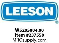 LEESON W5205004.00 GEARBOX - CUSTOM