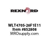 REXNORD WLT4705-26F1E11 WLT4705-26 F1 T11P WLT4705 26 INCH WIDE MATTOP CHAIN W