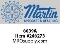 Martin Sprocket 8039A WRBXDBCH1-5/16X1-1/2