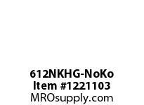 WireGuard 612NKHG-NoKo 6X6X12 NEMA TYPE-1 GUTTER