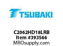 US Tsubaki C2062HD18LRB C2062H RIV 8L/D-1