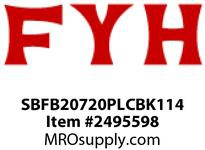 FYH SBFB20720PLCBK114 1 1/4 PLW OPEN COVER + BACK SEAL