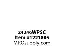 WireGuard 24246WPSC WEATHERPROOF ENCLOSURES GASKETED SCREW COVER TYPE3