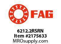 FAG 6212.2RSRN RADIAL DEEP GROOVE BALL BEARINGS