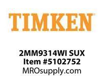 TIMKEN 2MM9314WI SUX Ball P4S Super Precision