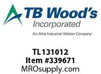 TBWOODS TL131012 TL1310X1/2 TL BUSHING
