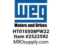WEG HT010508PW22 VJP 10HP 900 3/60/575 W22 TEFC Epact
