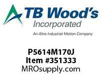 TBWOODS P5614M170J P56-14M-170-J SYNCH SPROCK