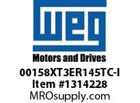 WEG 00158XT3ER145TC-I 1.5HP 1800 60 208-230/460 XP - Nema Pr