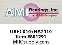AMI UKFCX10+HA2310 1-11/16 MEDIUM WIDE ADAPTER PILOTED CARTRIDGE SINGLE ROW BALL BEARING